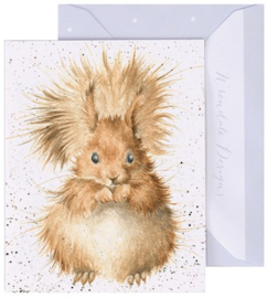 Wrendale Designs 'Redhead' miniature card