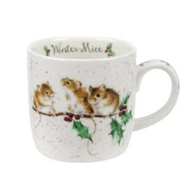 Wrendale Designs Winter Mice Christmas Mug