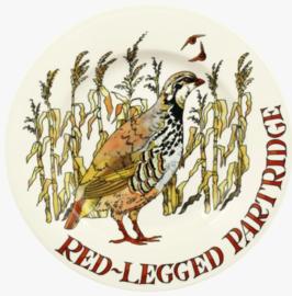 "Emma Bridgewater Game Birds Red Legged Partridge 8 1/2"" Plate"