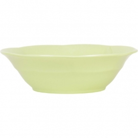 Rice Melamine Soup Bowl in Mint