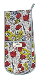 Ulster Weavers Double Oven Glove Cornish Gardens -Seasalt-