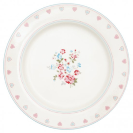 GreenGate Dinnerplate Sonia white -stoneware-