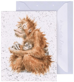 Wrendale Designs 'Love is' miniature Card