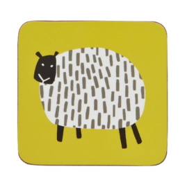Ulster Weavers Coasters Dotty Sheep - set of 4-
