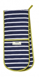 Ulster Weavers Double Oven Glove Sailor Stripe -Seasalt-