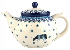 Bunzlau Teapot 1,3 l Cow -Limited Edition-