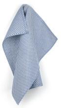 Bunzlau Tea Towel Small Check Royal Blue