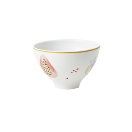 Rice Porcelain Bowl - Monkey Print - Special Edition