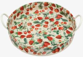 Emma Bridgewater Strawberries Large Handled Tin Tray