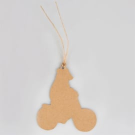 Sass & Belle Gift Tags Happy Animals on Bike -Set of 12-