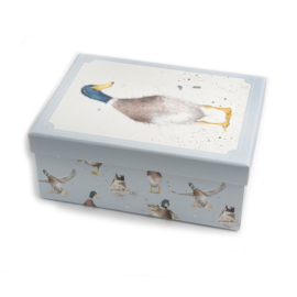 Wrendale Designs Large Duck Gift Box