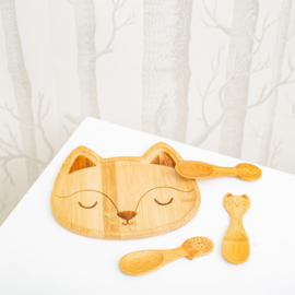 Sass & Belle Woodland Baby Bamboo Spoons -Set of 3