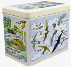 Emma Bridgewater Bird Families Large Rectangular Tin Caddy