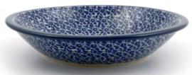 Bunzlau Plate Deep 21 cm Indigo