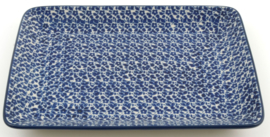 Bunzlau Tray 18 x 24 cm Indigo