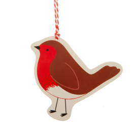 Sass & Belle Gift Tags Woodland Fun Robin -Set of 6-
