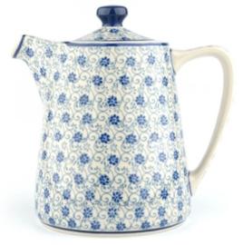 Bunzlau Teapot Straight 1000 ml Flower Fountain