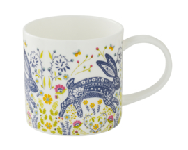 Ulster Weavers Straight Sided Mug Woodland Hare -Model A-