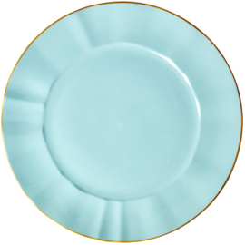 Rice Porcelain Charger Plate - Mint
