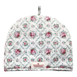 GreenGate Tea Cosy Malene petit white