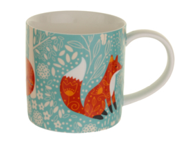 Ulster Weavers Straight Sided Mug Foraging Fox -Model A-