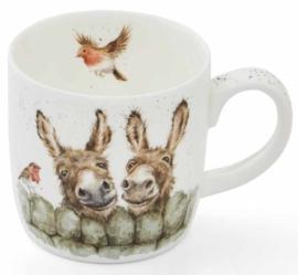 Wrendale Designs 'Hee Haw' Mug