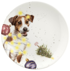 Wrendale Designs 'Festive Dog' Cake Plate