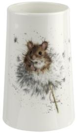 Wrendale Designs 'Country Mice' Vase -14,6 cm hoog-