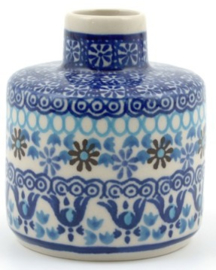 Bunzlau Fragrance Stick Holder Blue Coral