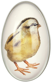 Emma Bridgewater Medium 'Chick' Egg-Shaped Tin