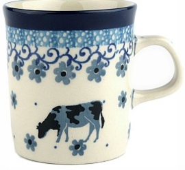 Bunzlau Straight Mug 150 ml Cow -Limited Edition-