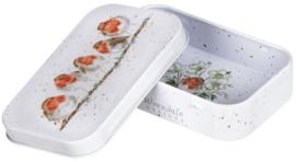 Wrendale Designs 'The Jolly Robin' mini gift tin