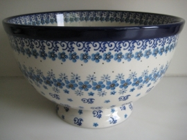 Bunzlau Bowl on Foot Large 25,5 cm Autumn Breeze