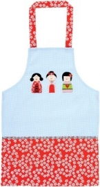 Ulster Weavers Geisha Child`s Cotton Apron v.a. 6 jaar
