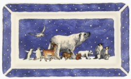 Emma Bridgewater Winter Animals Medium Oblong Plate