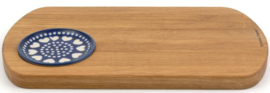 Bunzlau Serving Board Wood Rectangular