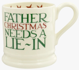 Emma Bridgewater Christmas Toast Father Christmas 1/2 Pint Mug