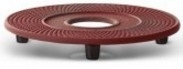 Bredemeijer Cast Iron Coaster Xilin Red