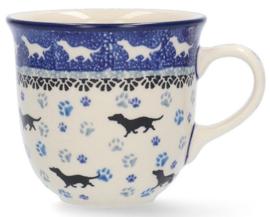 Bunzlau Tulip Mug 200 ml Dog -Limited Edition-