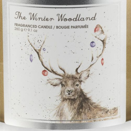Wrendale Designs 'Winter Wonderland' Wax Filled Glass Candle
