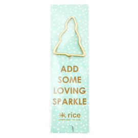 Rice Sparkler - Tree Shape - Gold