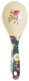 Rice Melamine Salad Spoon Wedding Bouquet Print - 'Follow the Call of the Disco Ball'