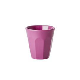 Rice Melamine Espresso Cups in 6 Assorted 'Simply Yes' Colors