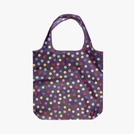 Emma Bridgewater Polka Dot Purple Foldaway Bag