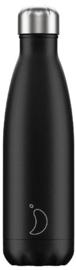 Chilly's Drink Bottle 500 ml Matte Black