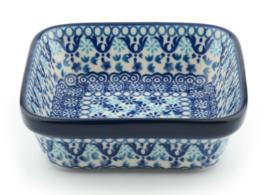 Bunzlau Square Bowl Large 13x13 cm  Nautique