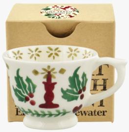 Emma Bridgewater Christmas Joy Tiny Teacup Boxed - 2021