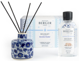 Bunzlau Castle & Maison Berger Perfume Diffuser Set Cotton Carees - Dragonfly