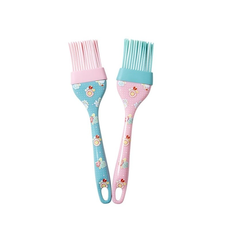 Rice Silicone Kitchen Basting Brush in Assorted Designs