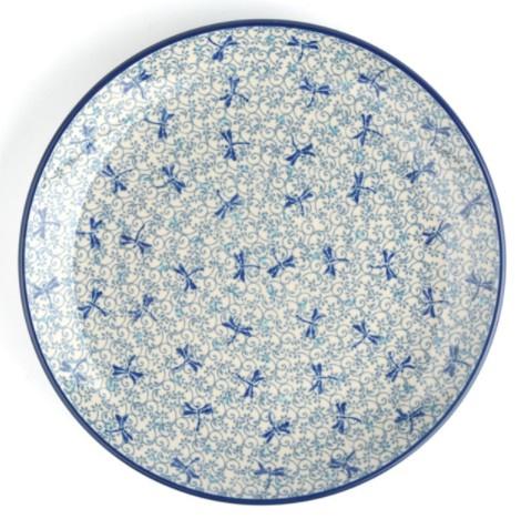 Bunzlau Plate Ø 25,5 cm Firefly